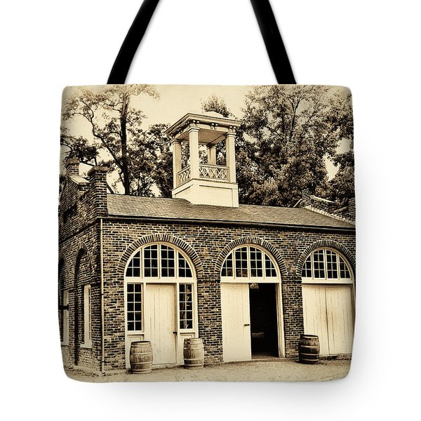 Harpers Ferry Armory Tote Bag by Bill Cannon
