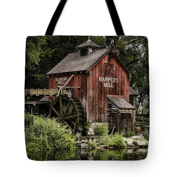 Harpers Mill Tote Bag by Heather Applegate