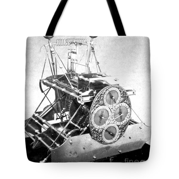Harrisons First Marine Timekeeper Tote Bag by Photo Researchers