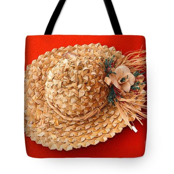 Hat Tote Bag by Gaspar Avila