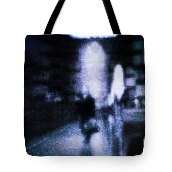 Haunted Tote Bag by Andrew Paranavitana