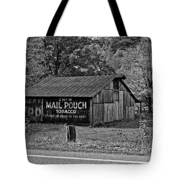 Have a Chaw monochrome Tote Bag by Steve Harrington