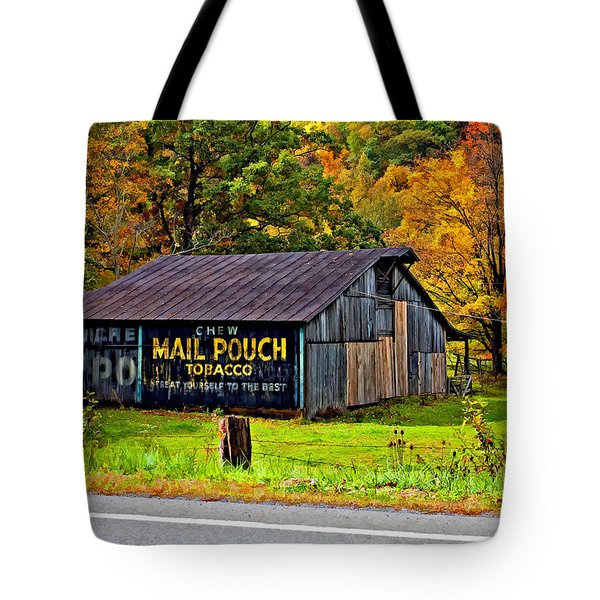 Have a Chaw painted Tote Bag by Steve Harrington