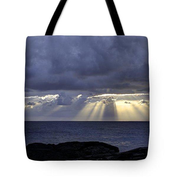 Hawaiian Sunrise Tote Bag by Mike Herdering