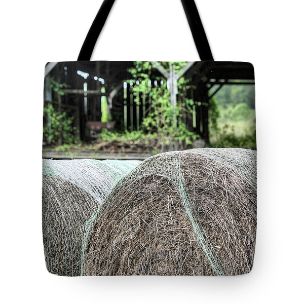 Hay Tote Bag by JC Findley