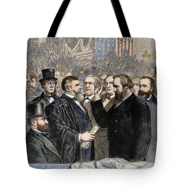 Hayes Inauguration Tote Bag by Granger