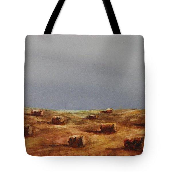 Hayfield Tote Bag by Ruth Kamenev