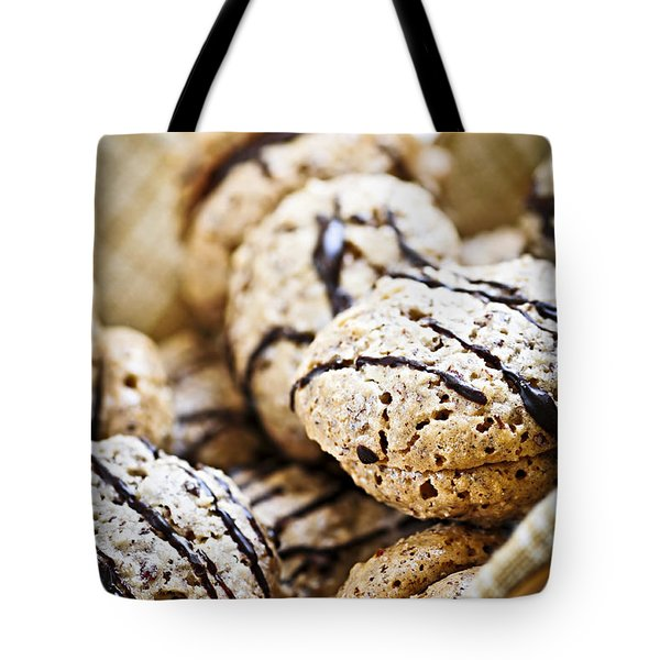 Hazelnut Cookies Tote Bag by Elena Elisseeva