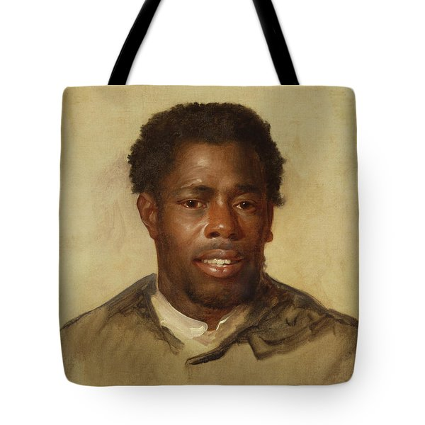 Head Of A Man Tote Bag by John Singleton Copley