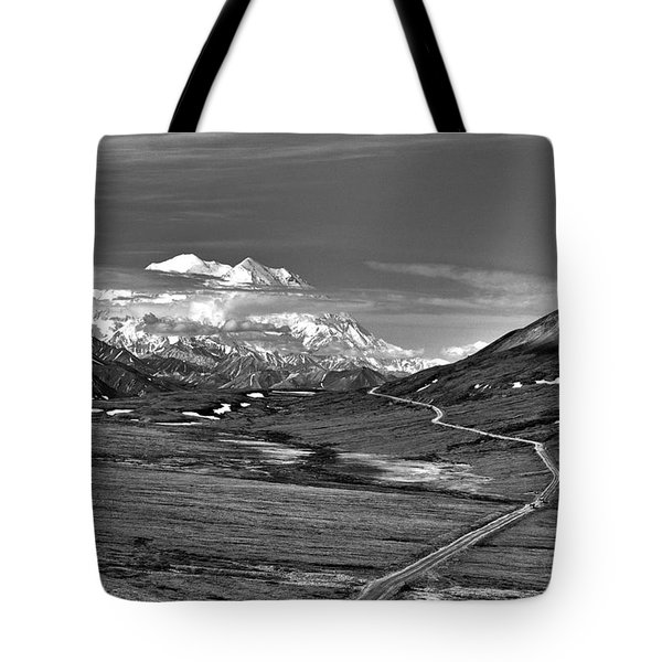 Headed To Mc Kinley D9746 Tote Bag by Wes and Dotty Weber