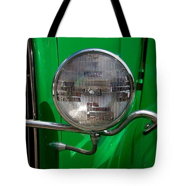 Headlight Tote Bag by Vivian Christopher