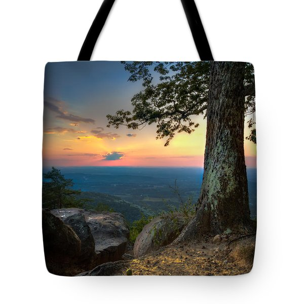 Heaven On Earth Tote Bag by Debra and Dave Vanderlaan