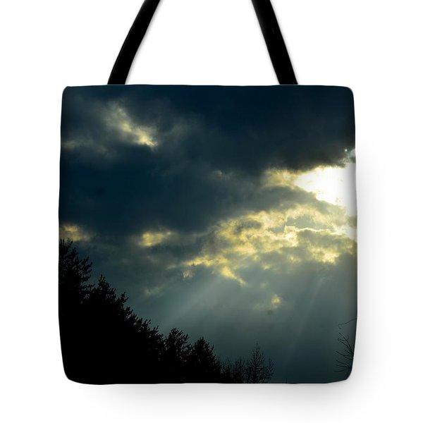 Heaven Sent Tote Bag by Maria Urso