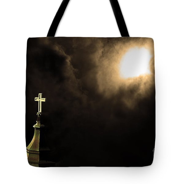 Heaven.s Gate . 7d15002 Tote Bag by Wingsdomain Art and Photography
