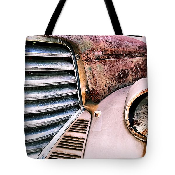 Heavy Metal Tote Bag by Susan Smith
