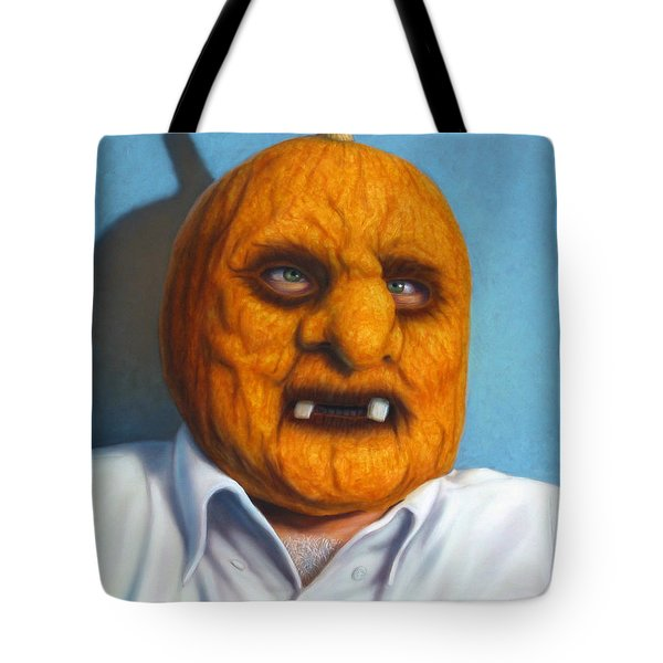 Heavy Vegetable-head Tote Bag by James W Johnson