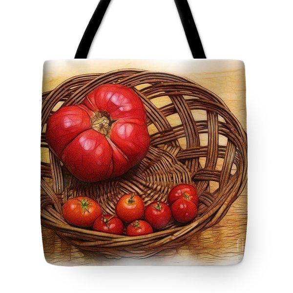 Heirloom Tote Bag by Judi Bagwell