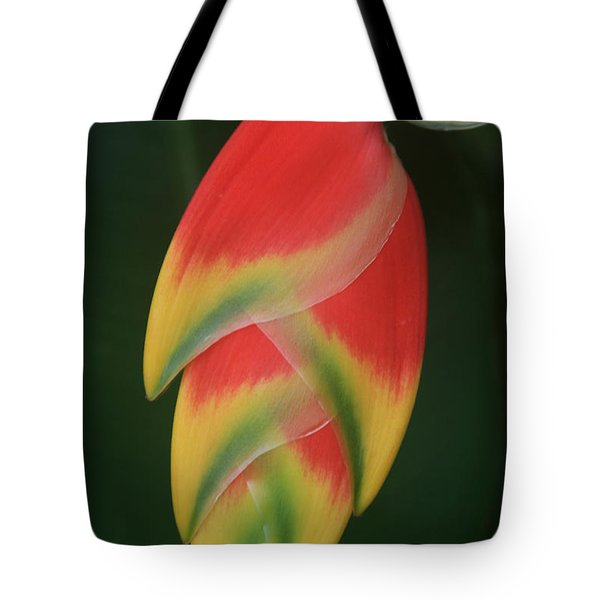 Heliconia Rostrata - Hanging Heliconia Tote Bag by Sharon Mau