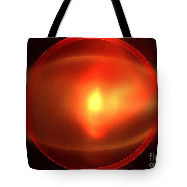 Heliosphere Tote Bag by Kim Sy Ok