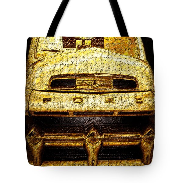 Henrys Ford Truck Tote Bag by David Lee Thompson