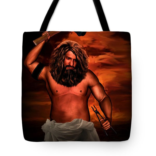 Hephaestus Tote Bag by Lourry Legarde