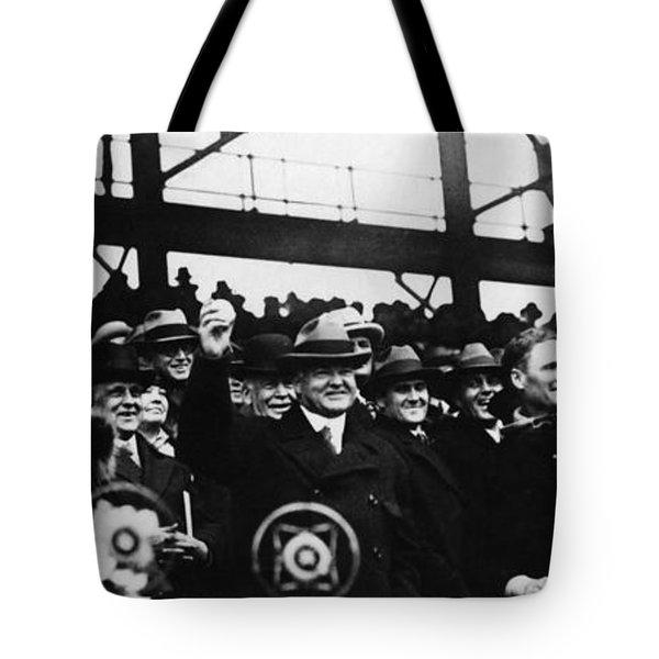 Herbert Hoover (1874-1964) Tote Bag by Granger