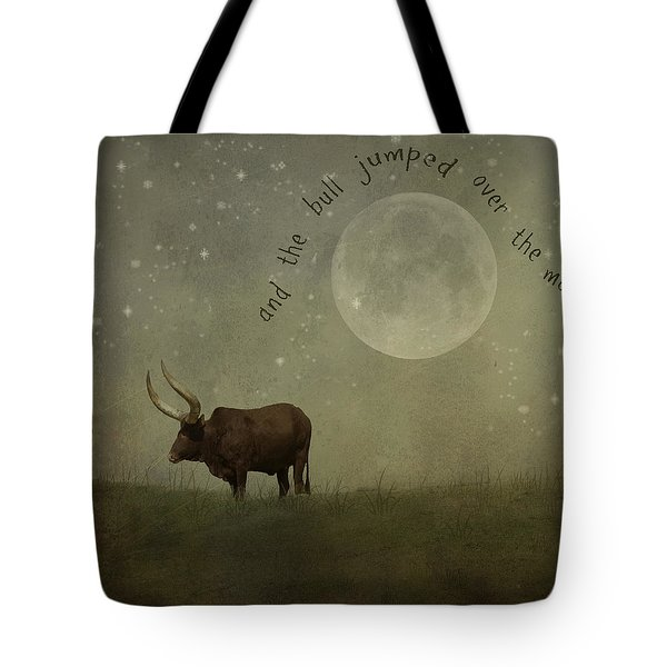 Hey Diddle Diddle  Tote Bag by Juli Scalzi