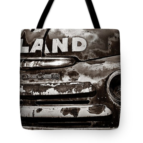 Hi-Land  -BW Tote Bag by Christopher Holmes