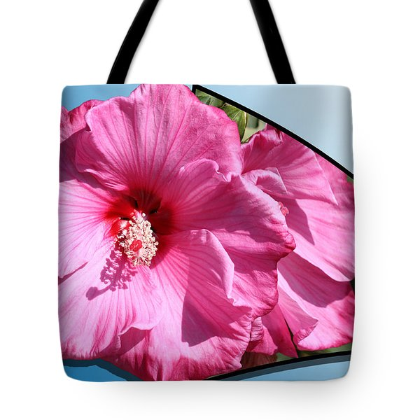 Hibiscus Tote Bag by Shane Bechler