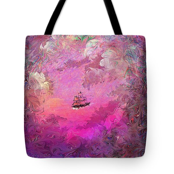 Hidden Treasure Tote Bag by Rachel Christine Nowicki