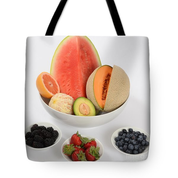 High Carbohydrate Fruit Tote Bag by Photo Researchers, Inc.