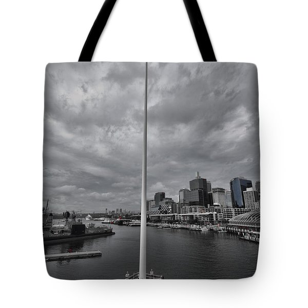 High Flying Tote Bag by Douglas Barnard