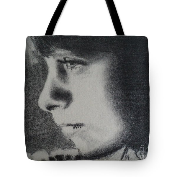 High School Senior Year Art Class First Drawing Tote Bag by Carla Carson