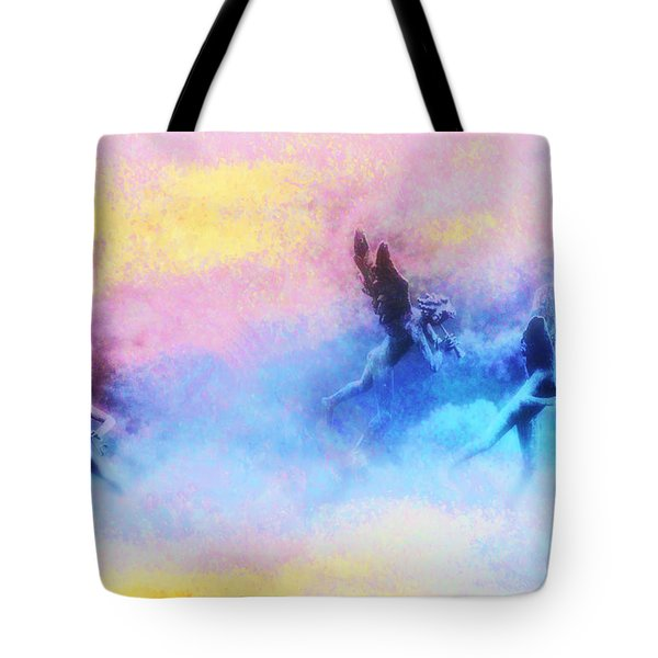 Hippie Heaven Tote Bag by Bill Cannon
