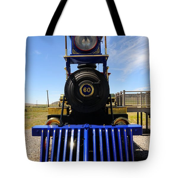 Historic Jupiter Steam Locomotive Tote Bag by Gary Whitton