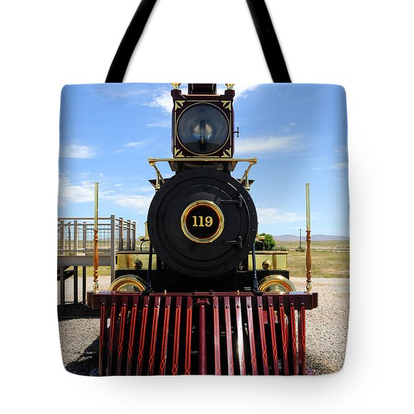 Historic Steam Locomotive Tote Bag by Gary Whitton