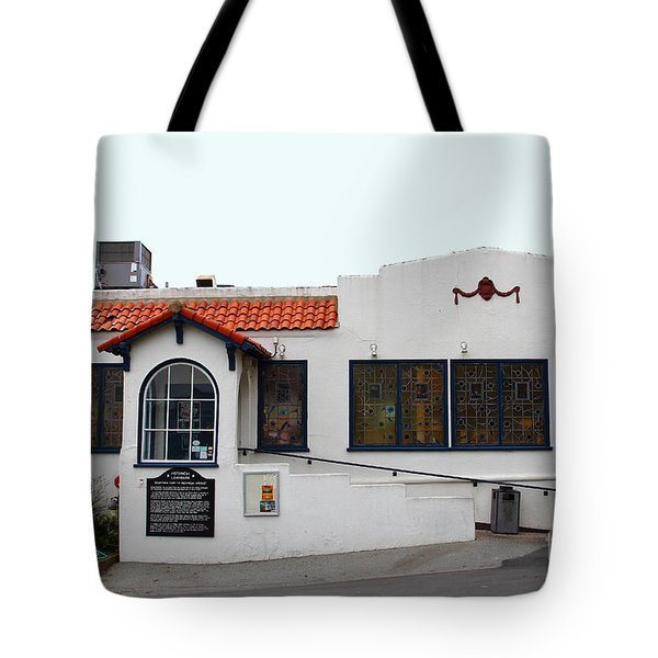 Historical Moss Beach Distillery at Half Moon Bay . 7D8172 Tote Bag by Wingsdomain Art and Photography