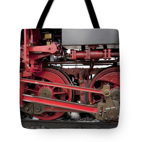 Historical Steam Train Tote Bag by Heiko Koehrer-Wagner