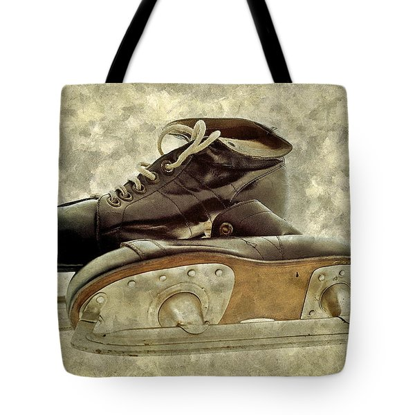 Hockey Boots Tote Bag by Dariusz Gudowicz