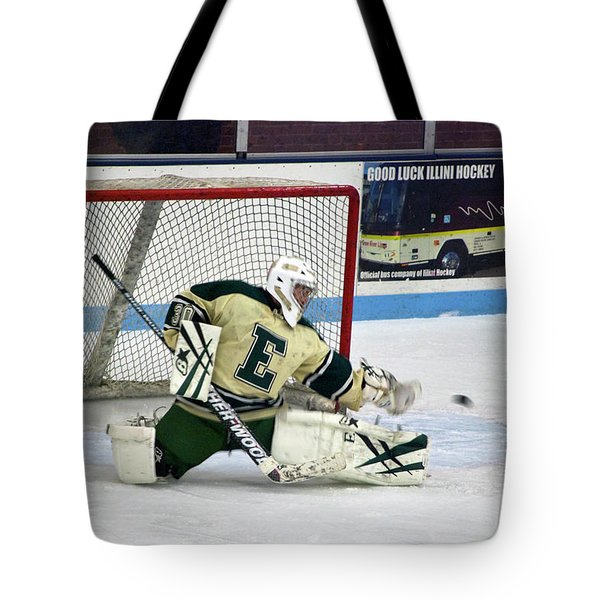 Hockey The Big Reach Tote Bag by Thomas Woolworth