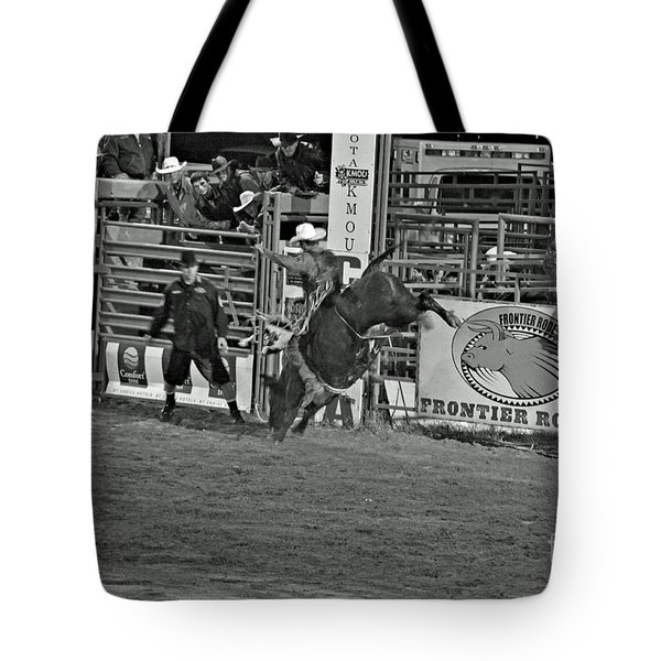 Hold On For 8 Tote Bag by Shawn Naranjo