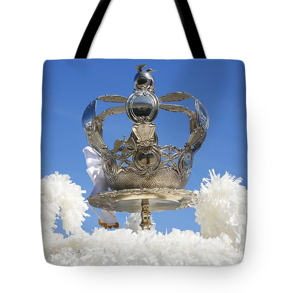 Holy Spirit Crown Tote Bag by Gaspar Avila