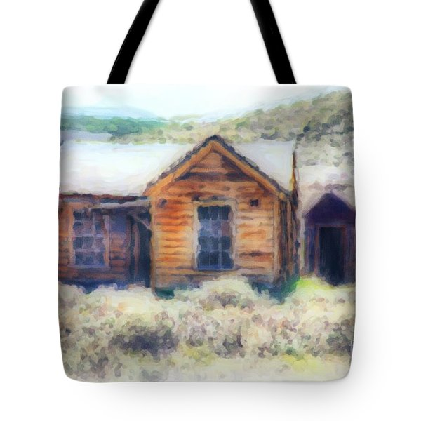 Homestead 3 Tote Bag by Cheryl Young
