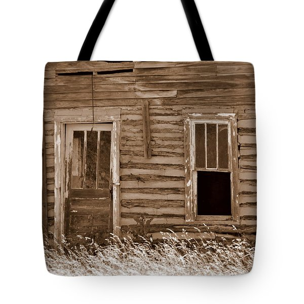 Homestead Past Tote Bag by Marty Koch