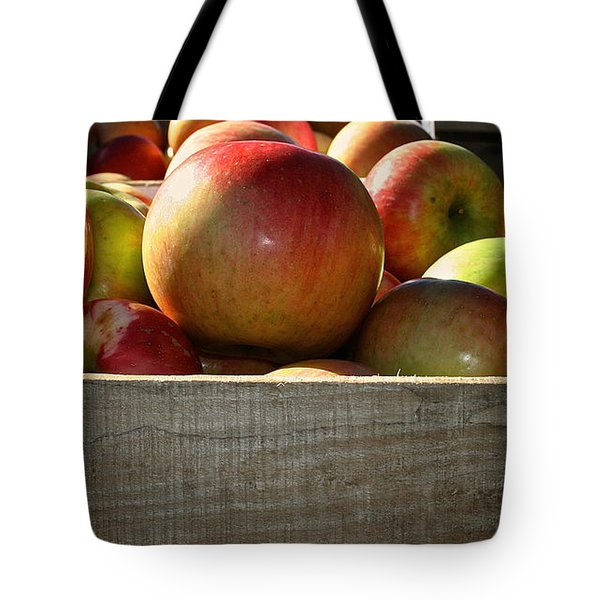 Honey Crisp Tote Bag by Susan Herber