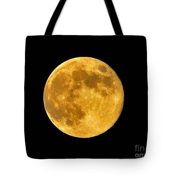 Honey Moon Close Up Tote Bag by Al Powell Photography USA