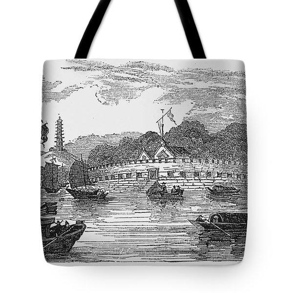 Hong Kong: Harbor, 1842 Tote Bag by Granger