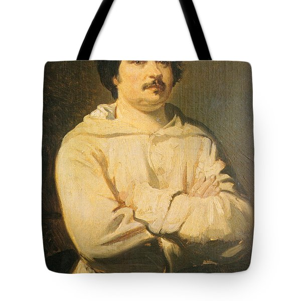Honore De Balkzac, French Author Tote Bag by Photo Researchers