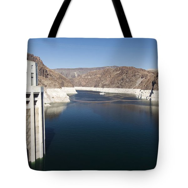 Hoover Dam Tote Bag by Gloria & Richard Maschmeyer