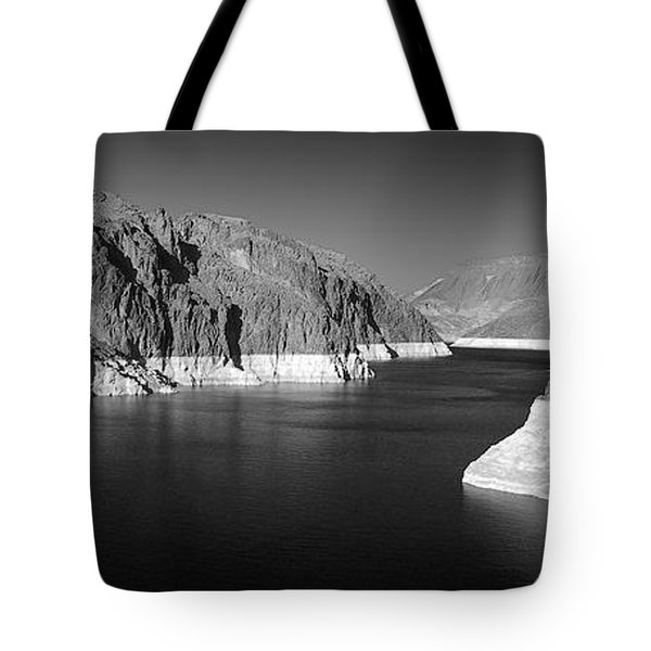 Hoover Dam Reservoir - Architecture on a grand scale Tote Bag by Christine Till